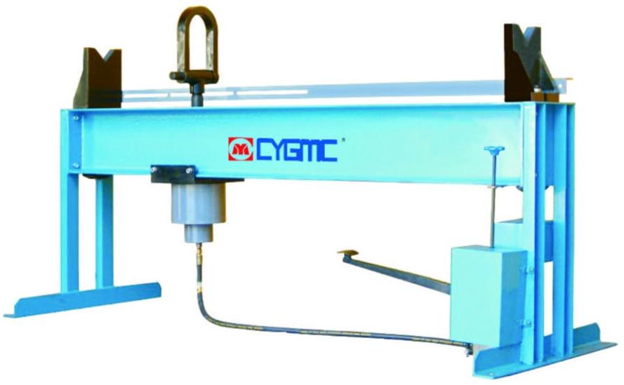 QJY Bent Axle Straightening Machine