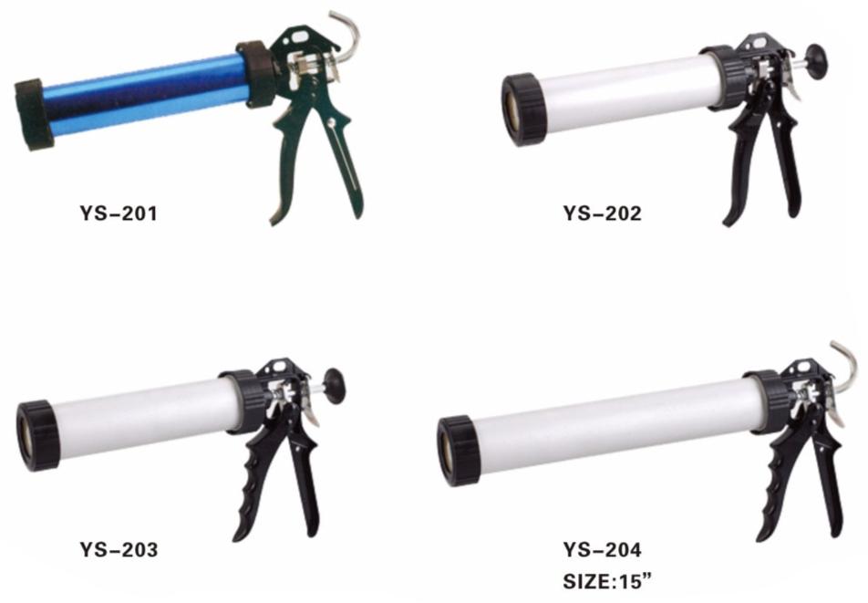 Aluminum Tube Calking Gun
